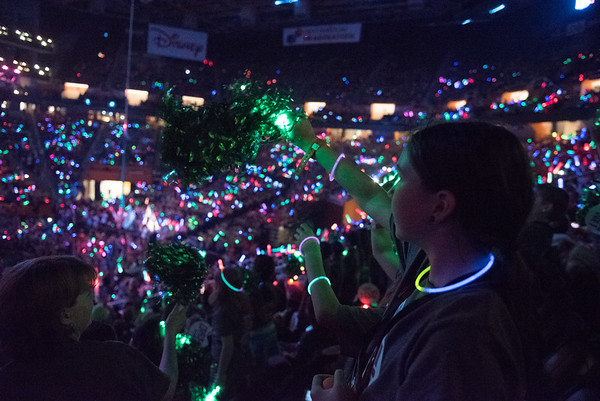 Lasers of the Welcome Ceremony