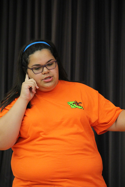 118-33895- Close Encounters-  Improvisation Challenge- Middle Level- Cope Middle School- We DIgress- Louisiana, Destination Imagination photo, photographer: Hannah Cather.