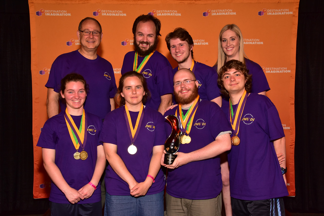145-51229- First Place- Pace of Change-Technical Challenge-James Madison University DI-JMU Mobilize-Virginia, High Instant Challenge Award