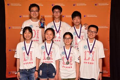185-38677- Second Place- Musical Mashup-Structural Challenge-Shanghai Hainan MS-Magic 'DJ'-China, 2016, Destination Imagination Global Finals