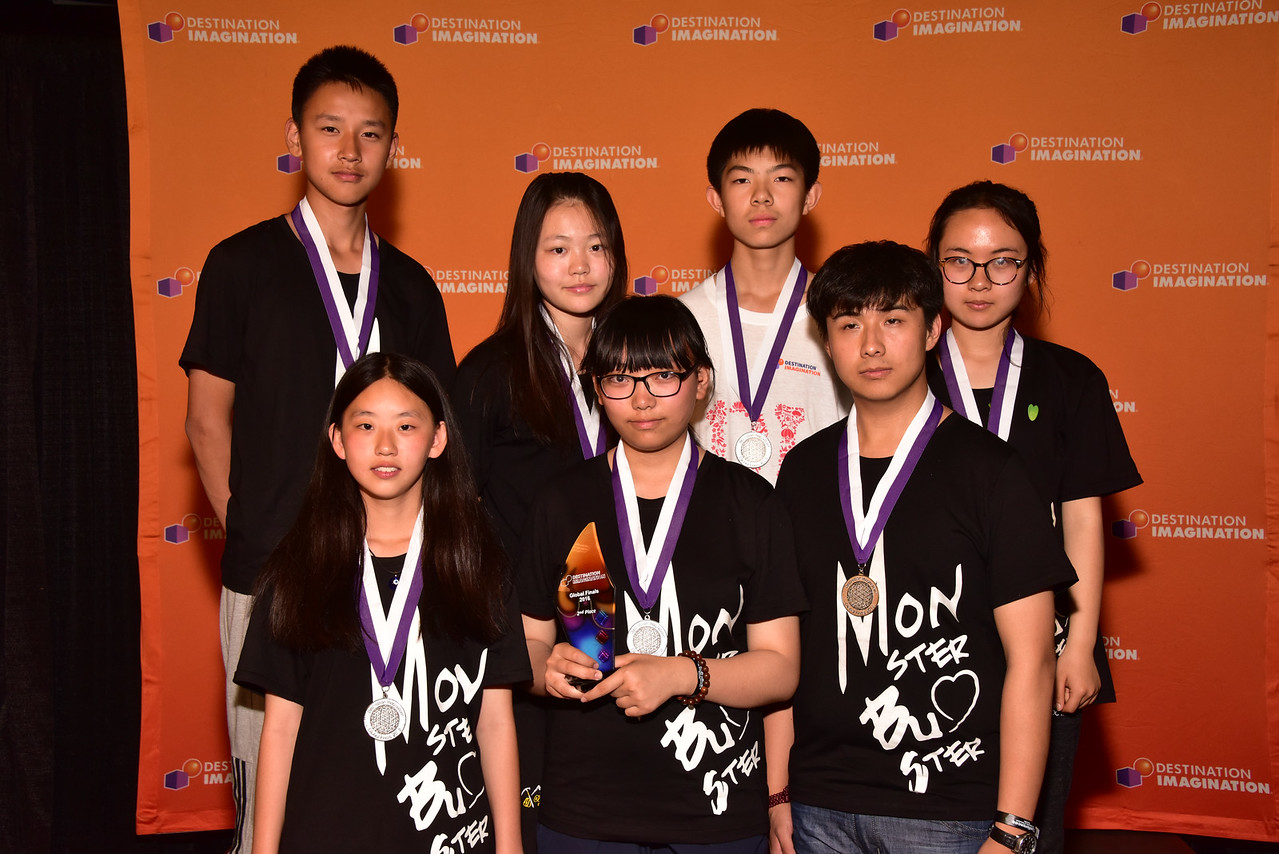 185-06623- Second Place- Get A Clue-Fine Arts Challenge-MS of Beijing Medical University-Monster Busters-China