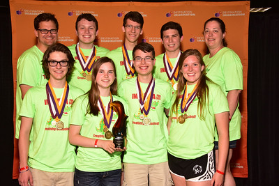115-64032- First Place- In Plain Sight-Scientific Challenge-Hamilton Southeastern-DIngos-Indiana, Renaissance Award -  Given for outstanding design engineering execution and/or performance.
