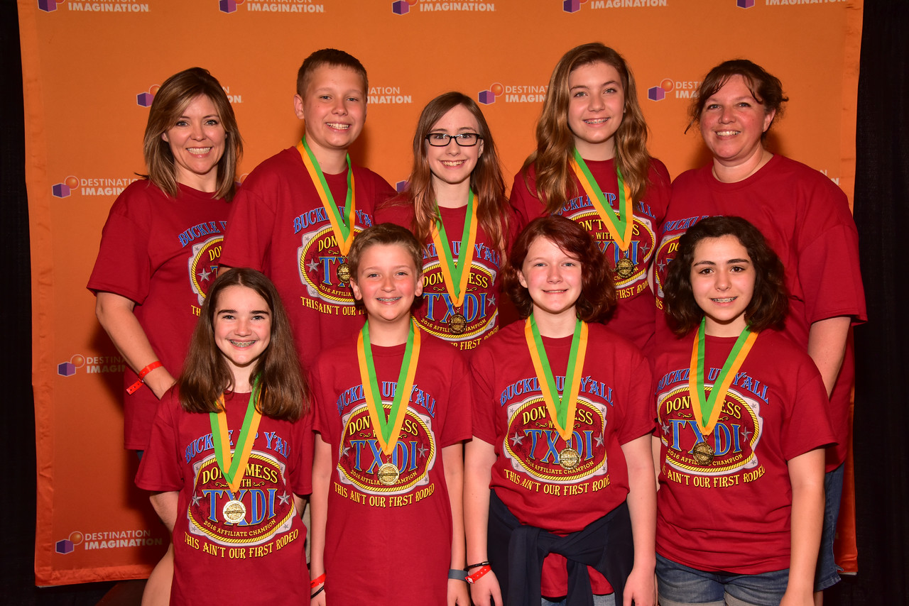 750-96551- Close Encounters- Improvisation Challenge-Curtis Middle School-Curtis MS-Texas, High Instant Challenge Award
