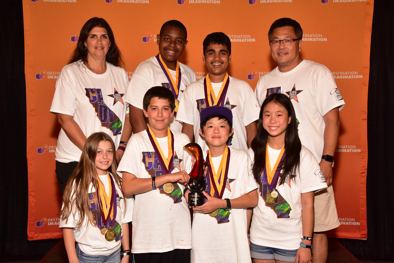 105-56460- First Place- Get A Clue-Fine Arts Challenge-Thomas Hart Middle School-Team: Where's The Caffeine?-California