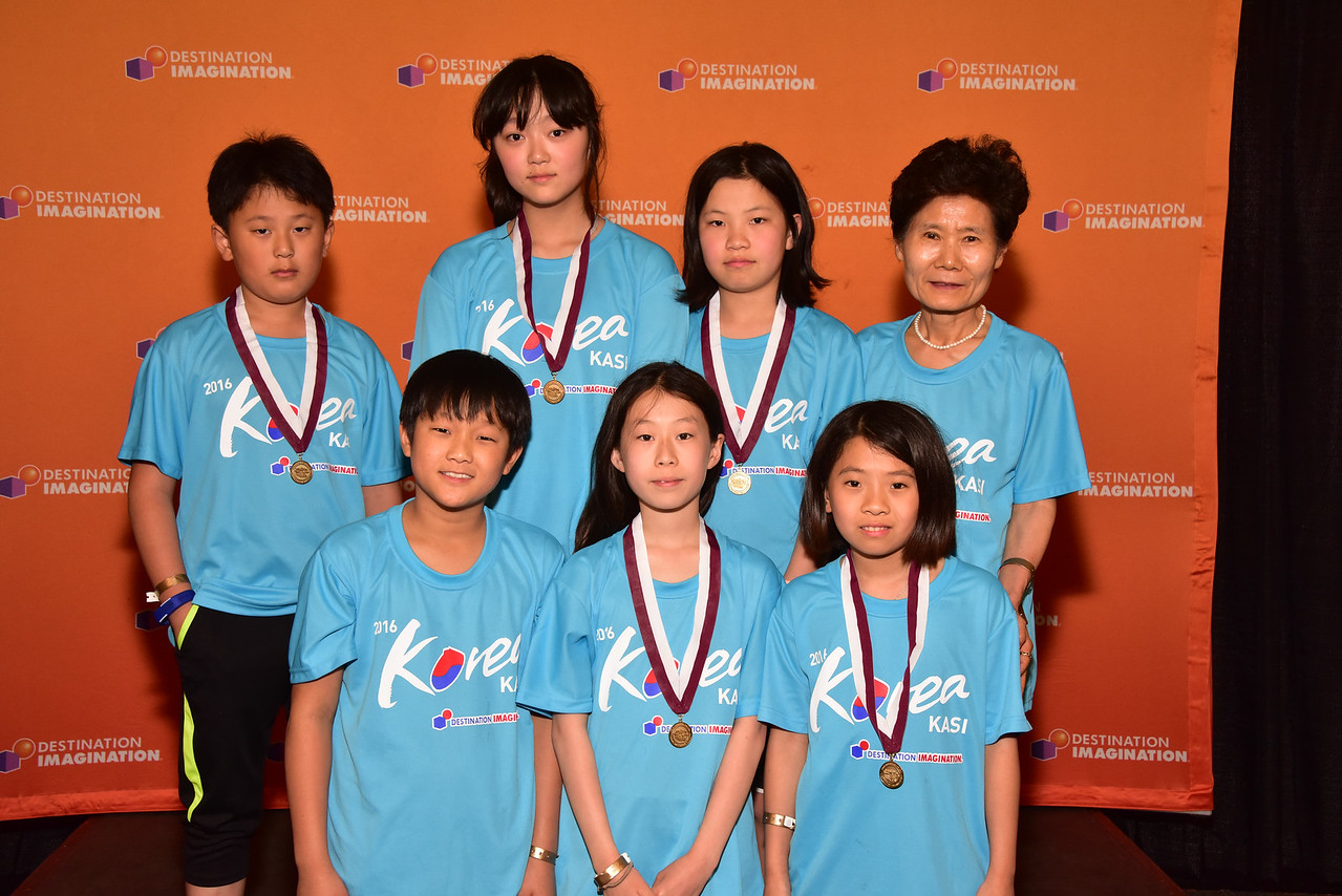 171-92939- Fourth Place- Get A Clue-Fine Arts Challenge-JANG SUNG Elementary School-Jang Sung Dream-KASI - South Korea, Renaissance Award -  Given for outstanding design engineering execution and/or performance.