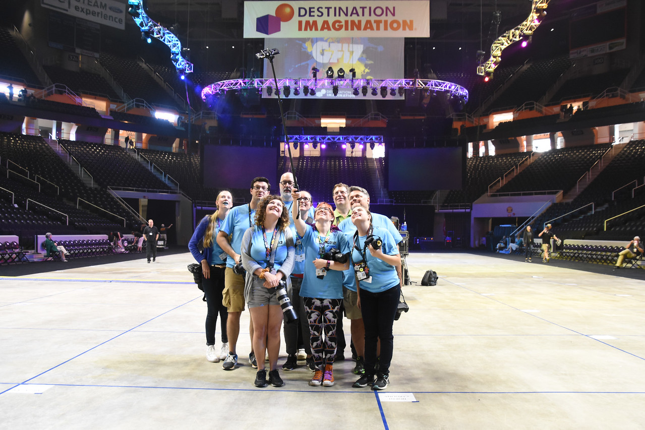 Selfie: Destination Imagination Global Finals 2017 Photo Team