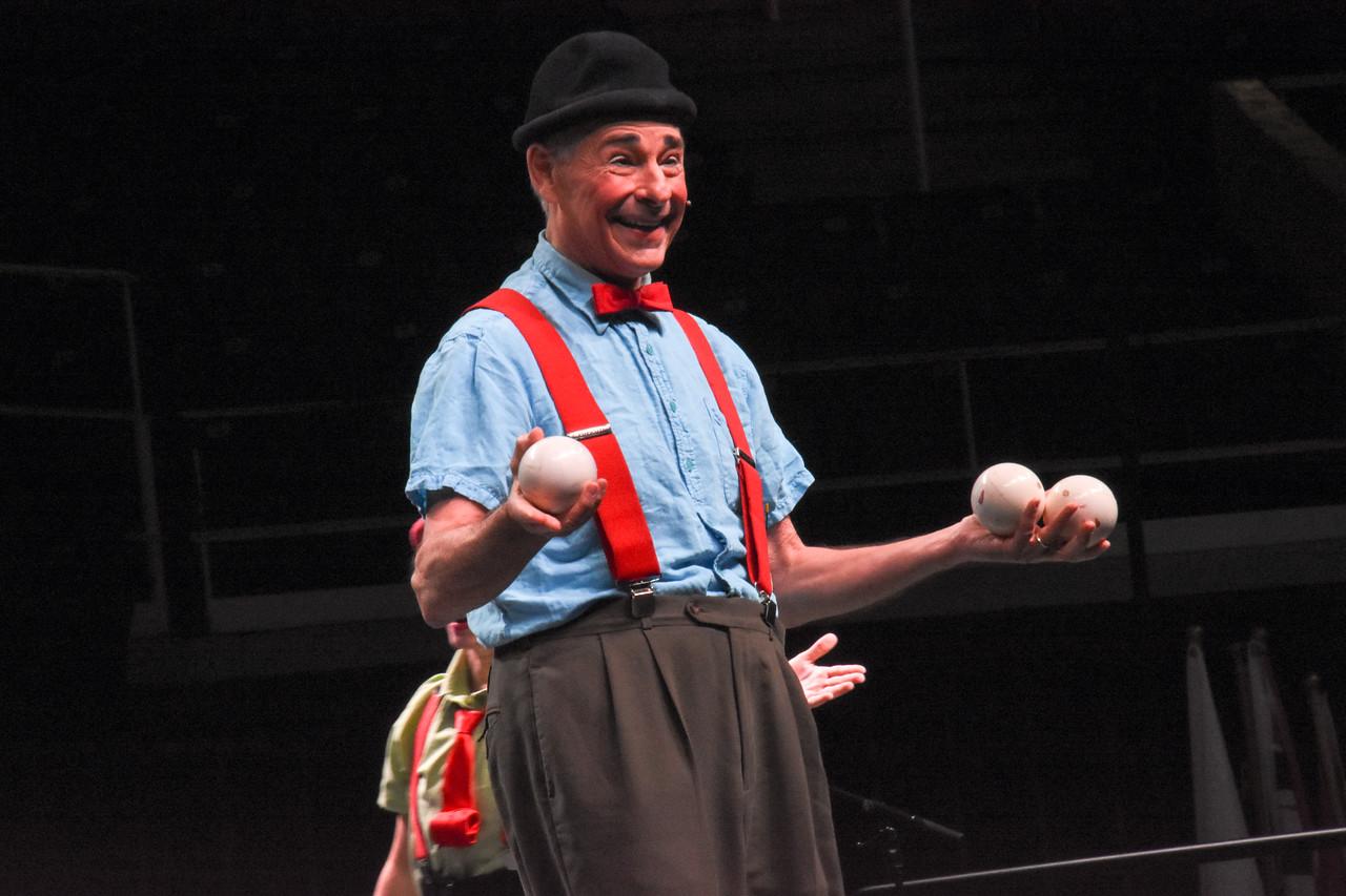 Broadway Masterclass:   Clowning Around