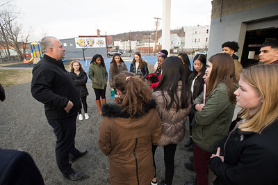 GLI Cohort Two learns about Brownfield remediation at Waterbury PAL
