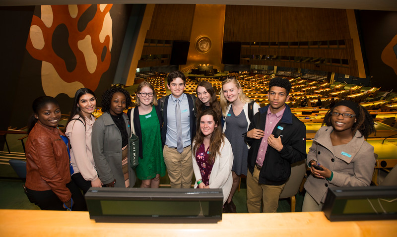 Global Leadership Institute scholars visit the United Nations