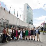 Global Leadership Institute scholars visit the United Nations