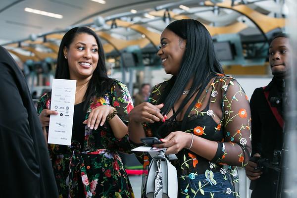 Guests attend Global Runway 2018 Presented by Hartsfield-Jackson International Airport
