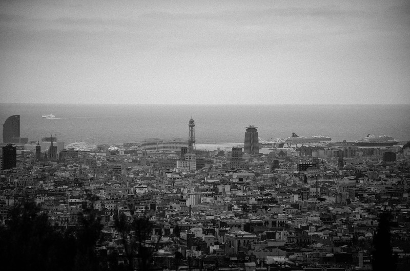 City View from  Park Güell
