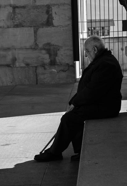 Old Man at Santa Maria de Montserrat Abbey