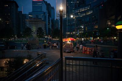 Light On Columbus Circle
