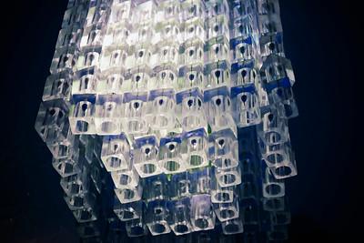 Ice Bar Chandellier