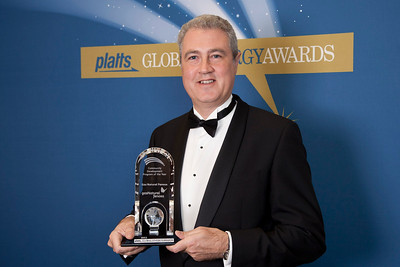 Managing Director of Communication for Gas Natural Fenosa, Jordi Garcia, accepts the 2011 award for Community Development of the Year.
