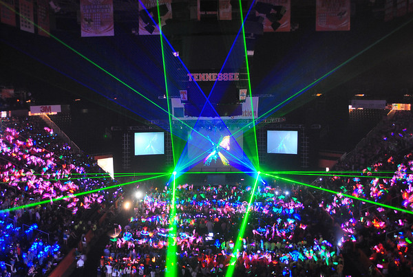Opening Ceremony 2011: Fireworks and Lasers