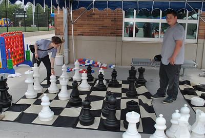 Team members can play chess...