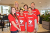 The first team to arrive and check in for Destination Imagination Global Finals is the team from Pickering, Ontario, Canada.