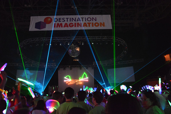 Lasers of Opening Ceremony
