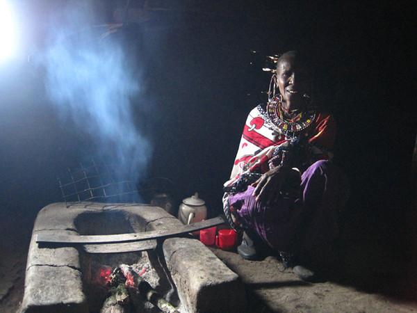 """Masai Woman"""