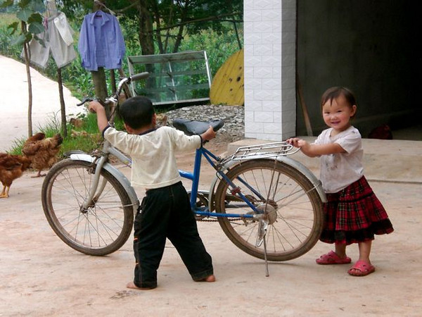 """""""Cyclists in Training"""""""