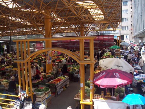 """Bosnian Market Place"""
