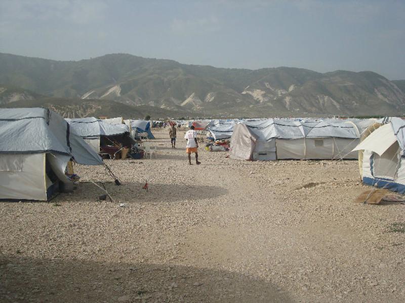 """Tent City"""