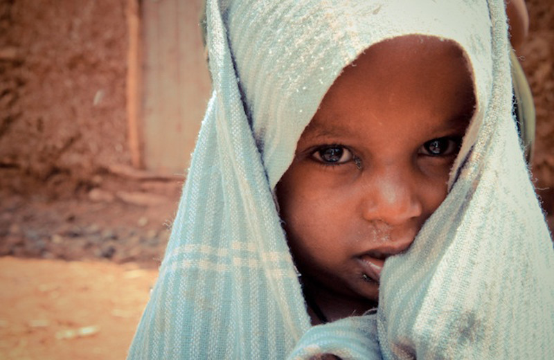 """Ethiopian Girl with Cloth"""