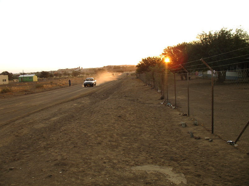 """Keetmanshoop Township at Sunset"""