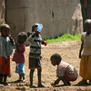 """Masai Children at Play"""