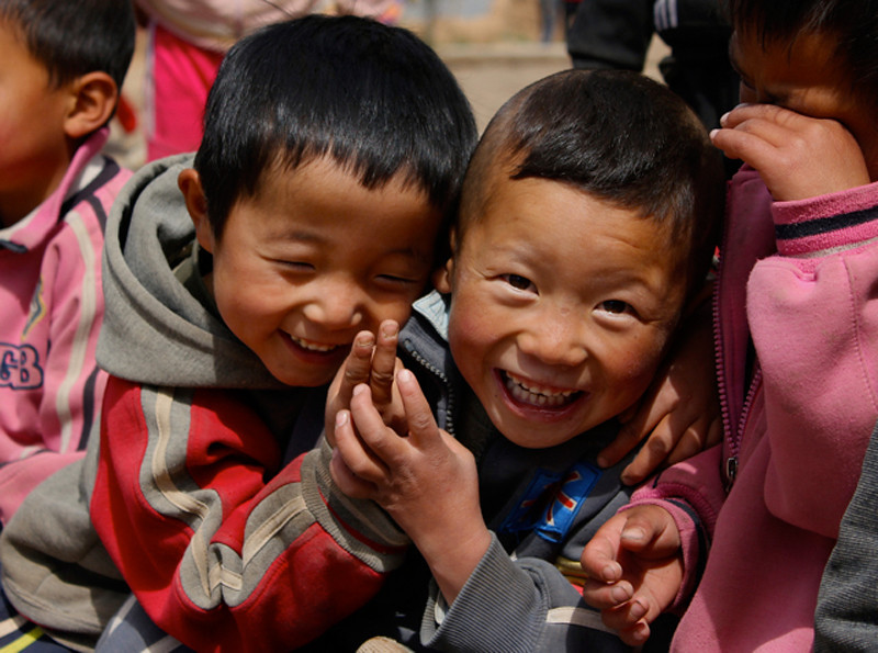 """""""All Smiles in Northwestern China"""""""