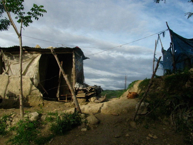 """On the Road from Port au Prince"""