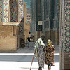 """Afternoon Stroll in the Shah-i-Zindah Tombs"""