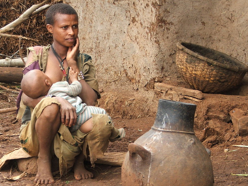 """""""Mother and Baby in Guta"""""""