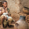 """Mother and Baby in Guta"""
