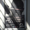 """Gay rights poster in a clinic in Cape Town, South Africa"""