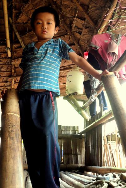 """Karen Boy in Mae La Refugee Camp"""