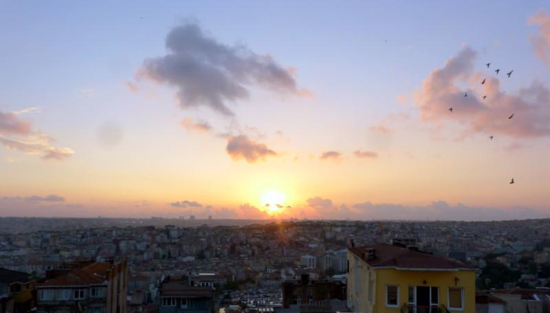 """Urban Sprawl in Istanbul, Turkey"""