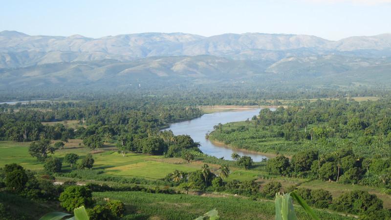 """""""View of the Artibonite, Haiti"""""""