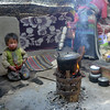"""Children and women are exposed to severe indoor smoke in Tibet"""