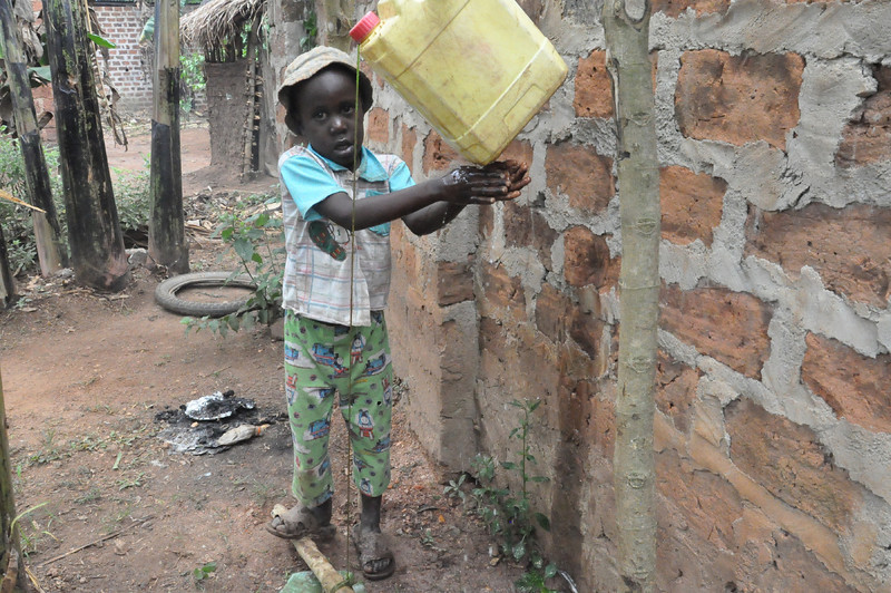 """""""Washing Hands After Using the Latrine"""""""