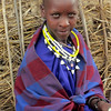"""Bold Young Maasai Woman"""