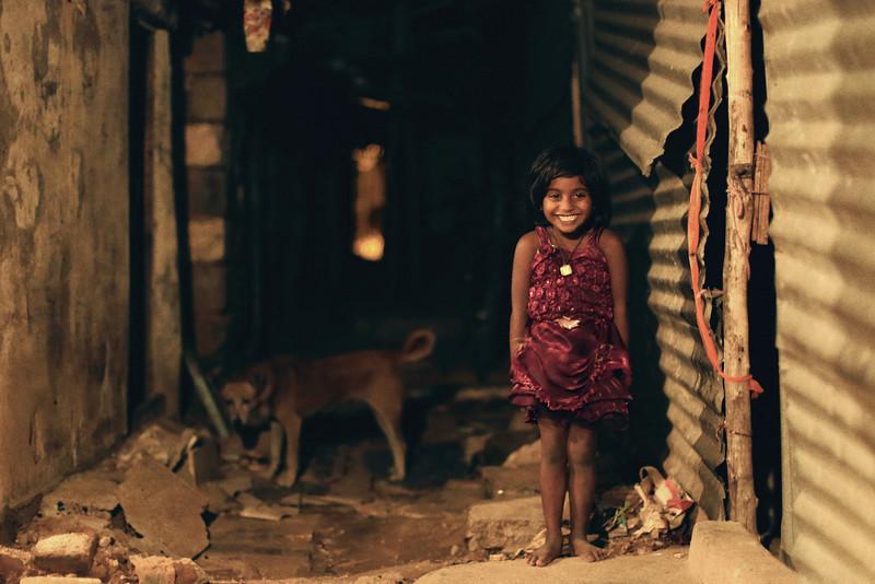 """""""Happiness in the JP Nagar Slum"""""""