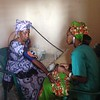 Fatou Receives Her First Check-Up