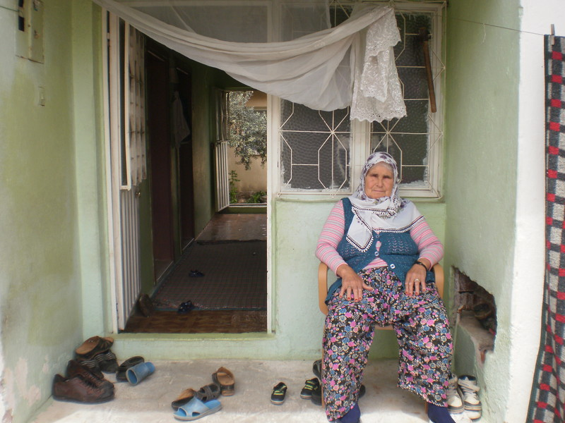 Turkish Grandma Enjoying Some Open-Air