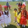 Young Kyrgyz Girls