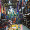 Fabric Store in Livingstone, Zambia