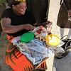 Woman Street Vender Sells Chikanda in Ndola, Zambia
