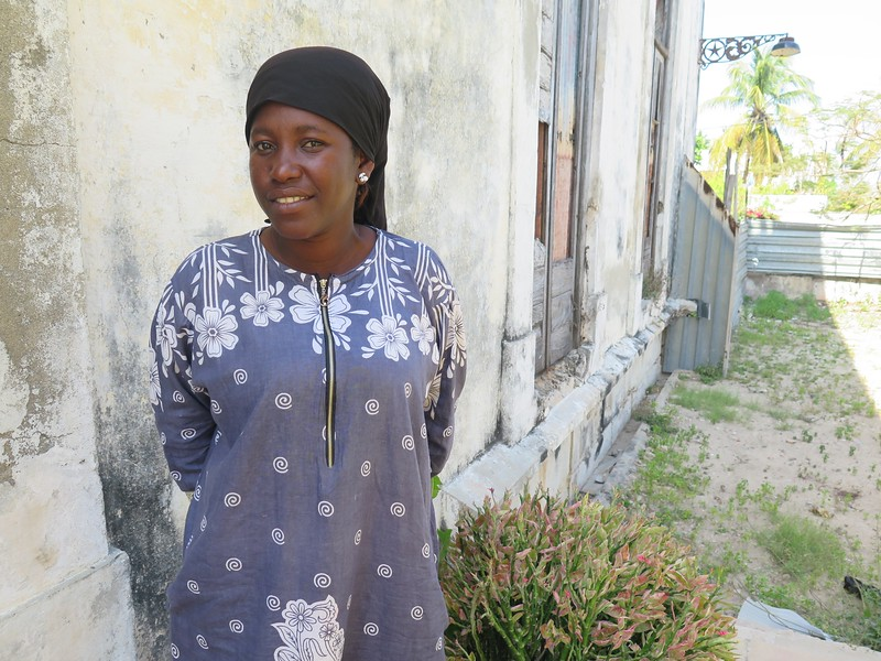 A Community Health Worker At the Health Clinic